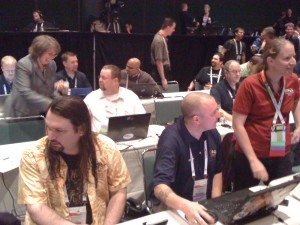 The Blogger's Table at the 2011 PASS Summit